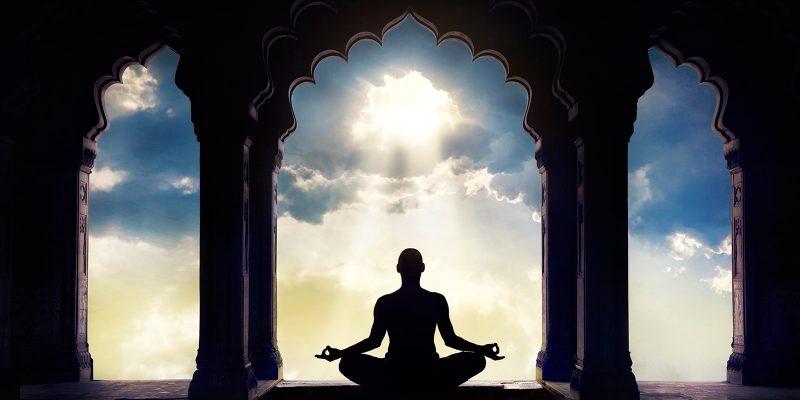 meditador luz