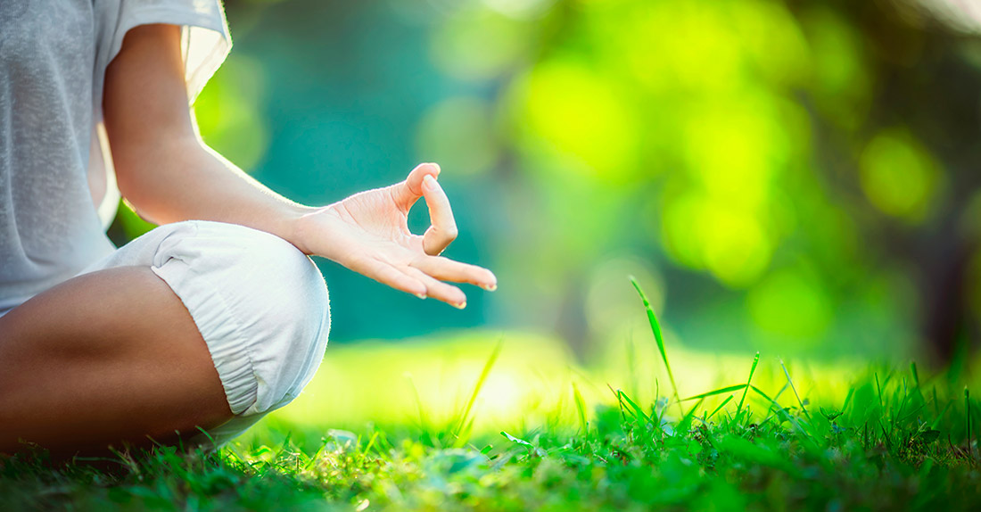 meditacion en bosque